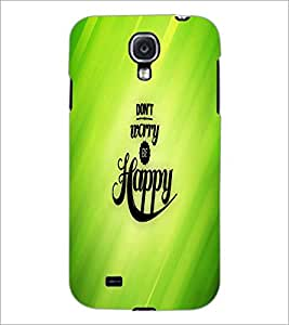 PrintDhaba Quote D-2682 Back Case Cover for SAMSUNG GALAXY S4 (Multi-Coloured)
