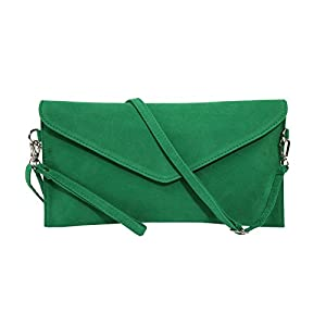 41UGbLA4lML. SS300  - jieway - bolso de mano para mujer, de ante sintético, con correa en bandolera