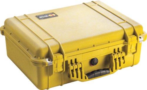 Pelican 1520 Kameratasche mit Schaumstoff, Orange, Mit gepolsterten Trenneinsätzen, gelb, 1 -
