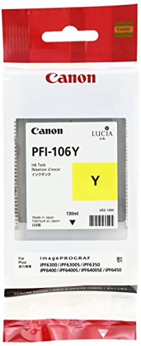 Canon 6624B001 Tintenpatrone PFI-106Y, gelb