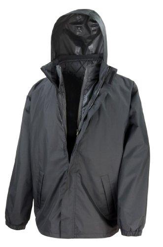 Result Core Men's 3 in 1 Outdoor Jacket Noir