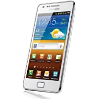 Samsung Galaxy S II i9100 DualCore Smartphone (10,9 cm (4,3 Zoll) Touchscreen Display, Android 4.0 oder höher, 8 MP Full-HD Kamera, 2 MP Frontkamera) ceramic-white