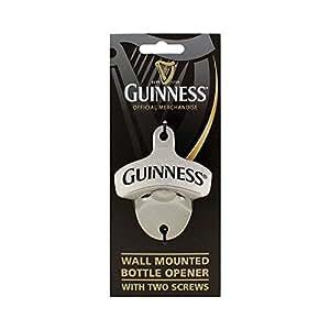 Guinness Décapsuleur mural avec deux vis