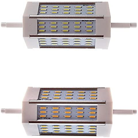 YangR*R7S 5W, 500LM 45 SMD LED 3014 Horizon Plug White (6000-6500K) Decoración ing(surtidas) , de color blanco