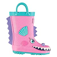 Crafted Kids Junior 3D Infant Wellies Wellington Shoes Boots