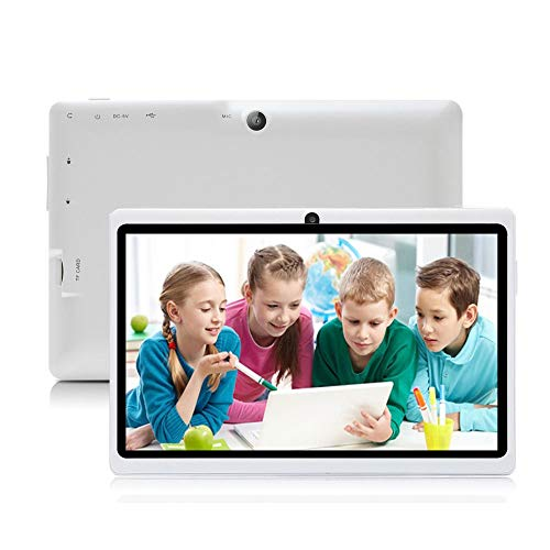iRULU Tablet de 7 Pulgadas Google Android 6 0 Quad Core 1024x600 Cámara  Dual Wi-Fi Bluetooth 1GB/8GB Play Store Netfilix Skype Juego 3D Compatible  con
