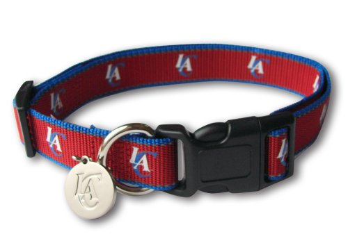 sporty-nba-los-angeles-clippers-reflective-dog-collar-large