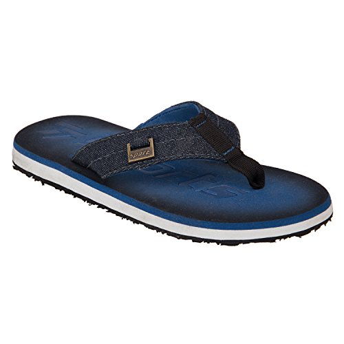 77 Seventy Seven Men Flip Flops Trendy Premium Design Confortable, Light Weight, Boy Walking Slippers (Blue)  available at amazon for Rs.359