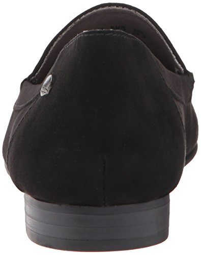 Life Stride Samantha Rund Faux Wildleder Slipper Black