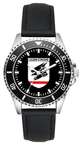 Soldat Geschenk Artikel Bundeswehr Legion Condor Uhr L-1580