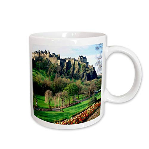 3dRose Castle in Edinburgh Scotland Keramiktasse 450 ml