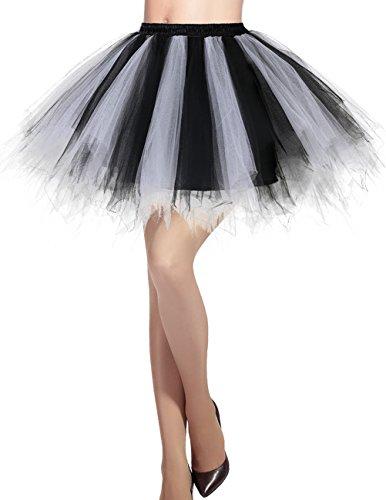 Dresstells Women 50s Short Bubbl...