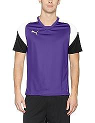 Puma Esito 4Training Jersey Camiseta, primavera/verano, hombre, color prism violet-puma white-ebony, tamaño L
