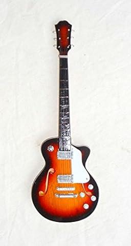Miniatur Deko Gitarre mini guitar Gibson
