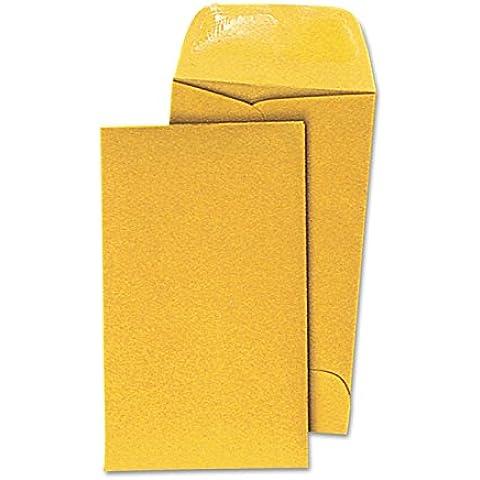 Kraft Coin Envelope, #3, Light Brown, 500/Box, Sold as 1 Box