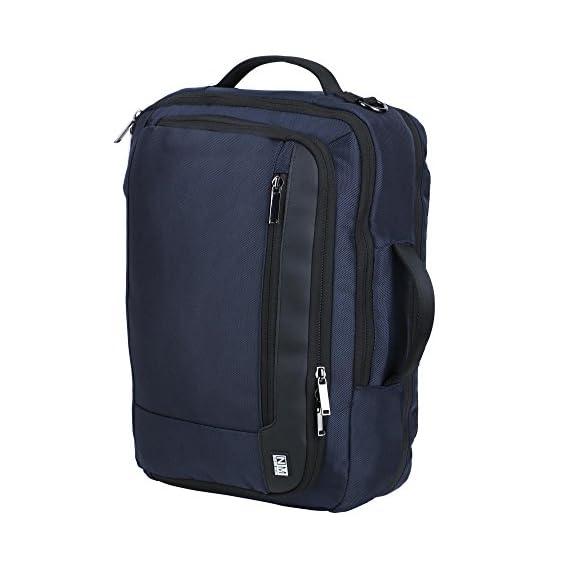 Nasher Miles Marathoner 3 Way Navy Blue Laptop Backpack/Messenger/Shoulder Bag