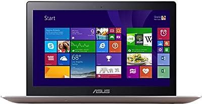 Asus Zenbook UX303LA-RO340H 33,8 cm (13,3 Zoll HD) Ultrabook (Intel Core i5-5200U, Intel HD 4400, Win 8.1) silber