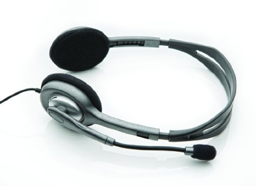 Price comparison product image Logitech 981-000271 - Stereo Headset H110 - Warranty: 2Y