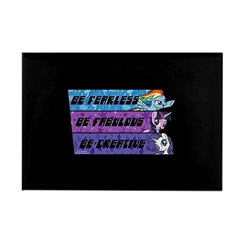 e Pony Be Fearless Fabulo - Rechteckiger Magnet, 5,1 x 7,6 cm Kühlschrankmagnet ()