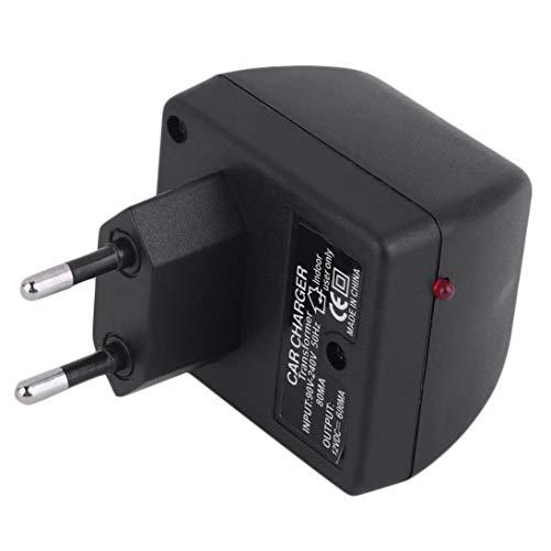Adattatore per convertitore di Alimentazione per Auto Caricabatterie da 220 V a CC 12V Presa accenditore Pratico Elettrico per la casa (ToGames)