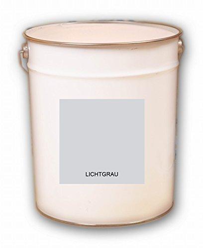 5 Liter grau Lichtgrau Hellgrau Acryl Dachfarbe Dachanstrich Ziegelfarbe Dachbeschichtung Metalldach Blechdach Acrylat Basis