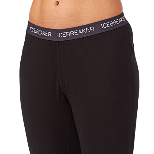 Icebreaker Damen Unterhose Oasis Leggings Black