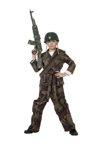Anzug Geld Kostüm (Kinderkostüm Soldat, Gr. 152)