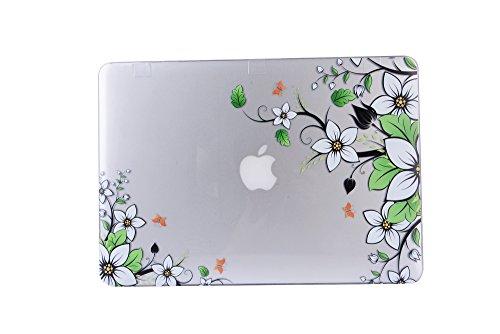 wholesale dealer a8f46 a6c31 MacBook Air 13 Case, AQYLQ MacBook Air 13 inch Unique Elegant Design Vinyl  Decal Skin Sticker Hard Shell Case for Apple MacBook Air 13.3''(Model: ...