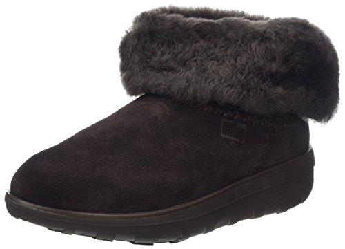 Fitflop Mukluk Boots (FitFlop Damen Mukluk Shorty 2 Boots Kurzschaft Stiefel, Braun (Chocolate), 38 EU)