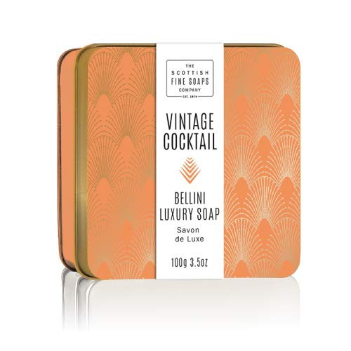 Scottish Soap Soap in a Tin Bellini