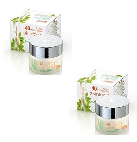 Helan - elisir antitempo skinfood 40+ antirughe 2 conf da 50ml crema elasticizzante viso, collo e décollete