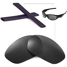 Walleva Earsocks für Oakley Radar Serie Sonnenbrillen - Mehrfache Optionen (Schwarz) wYuqzwwf