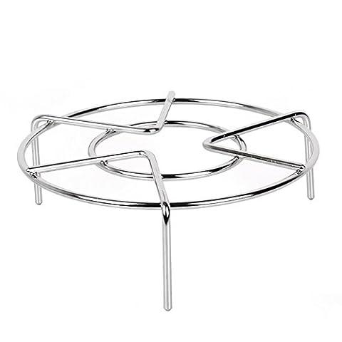 Steam Rack,Steaming Rack Stand,Steamer Basket,Heavy Duty Stainless Steel Metal Multi-function By Ayuboom