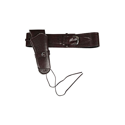 Deluxe Cowboy Holster Black for Fancy dress ()