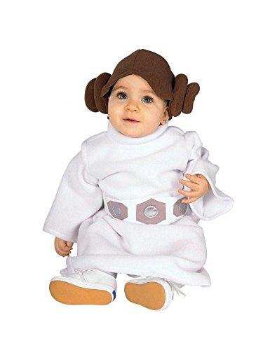 Imagen de disfraz princesa leia bebé star wars  único, 24 meses