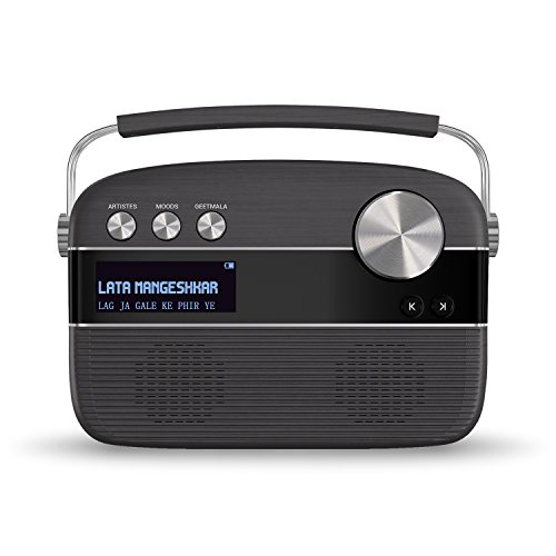Saregama Carvaan Portable Digital Music Player (Charcoal Grey)
