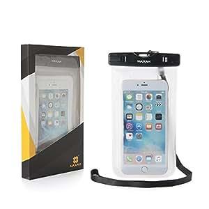 MAXAM® Smartphone iphone copertura custodia impermeabile per iphone/Samsung/Blackberry/Motorola/Nokia/HTC ecc. Durante lo Sport/spiaggia in Sport come il nuoto/sci ecc.--transparent