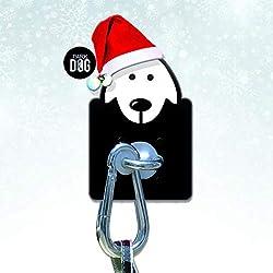 Dog Parking - Edelstahl Hundebindung - Quick Leine für Lebensmittel, Garten, Apotheke, Bäckerei und Tierarzt