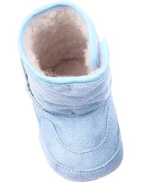 LvRao Neugeborenes Baby Stiefel Winter Herbst Angenehm Weiche Säugling Schuhe Krabbelschuhe für Kleine Babys