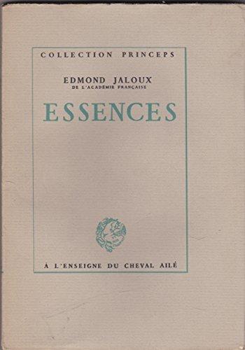 Essences.