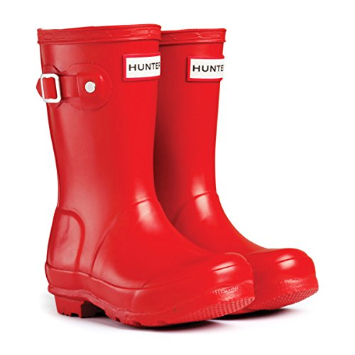 Hunter  Original, Bottes Unisexe enfant Rouge - rouge