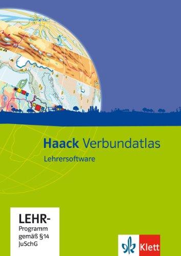 Haack Verbundatlas. Lehrersoftware auf CD-ROM
