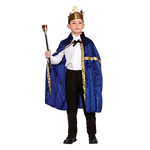 Deluxe King/Queen Robe & Crown Blue (8-10) **NEW**