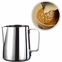 Alcoa Prime Stainless Steel Espresso Coffee Pitcher Barista Craft Coffee Latte Milk Frothing Frothing Pitcher Measuring Jug Craft 350/600ml