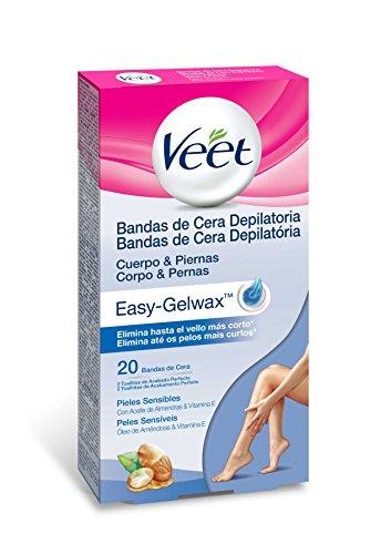 Veet - Bandas de cera depilatoria