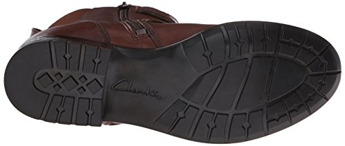 Clarks Plaza City Ingegnere Boot Brown Leather