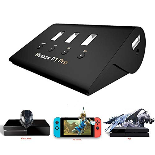 Minear - Convertitore per Tastiera e Mouse, Funzione Plug-And-Play, spazzole Automatiche a Doppia Impugnatura, per PS4 Switch Xbox