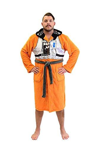 ot Adult Fleece Robe (Erwachsene Xwing Pilot Kostüme)