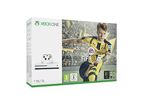 Xbox One S 1 TB + FIFA 17 [Bundle Limited] [Importación italiana]