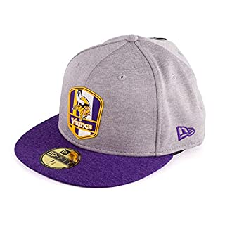 New Era Herren Fitted Cap NFL Minnesota Vikings 59 Fifty grau 7 3/4-61,5cm